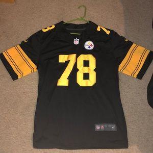 Steelers color rush Villanueva Jersey size large